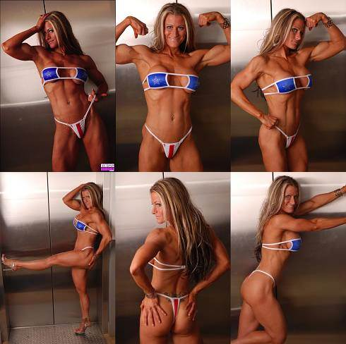 muscle woman photograph