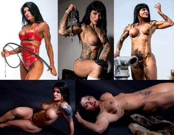 Female Fetish Muscle Model Picture