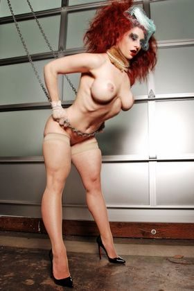 Adult Female Fitness Model Picture