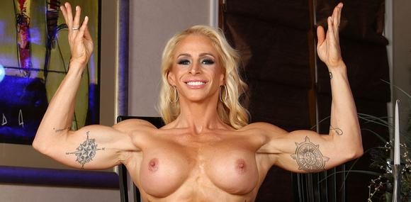 Naked female latin bodybuilder certainly right