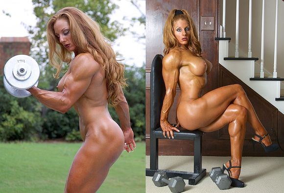 The Teen female bodybuilder naked