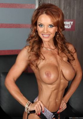 Muscular Female Pornstar Picture