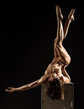 Female Pole Dancer Picture