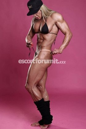 Female Muscle Escort Picture