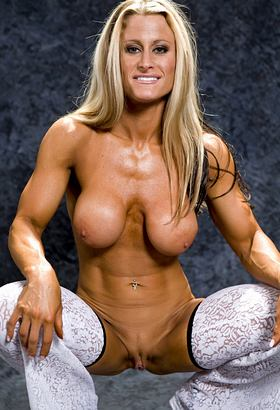 Female body builders nude really. was