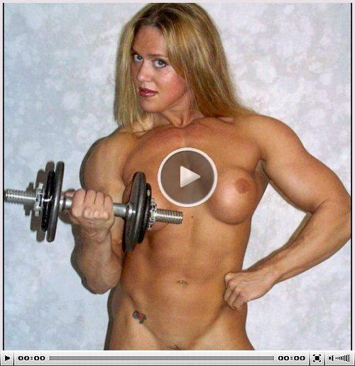 Female Muscle Model Picture