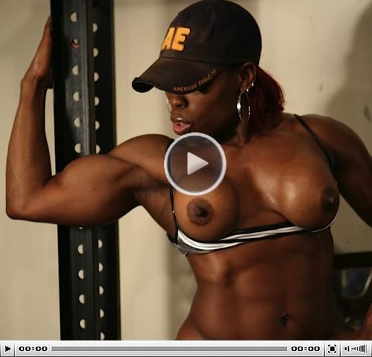 Nude Female Bodybuilder Screen Cap