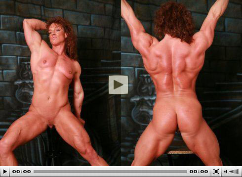 Nude Female Bodybuilder Sheila Bleck Picture