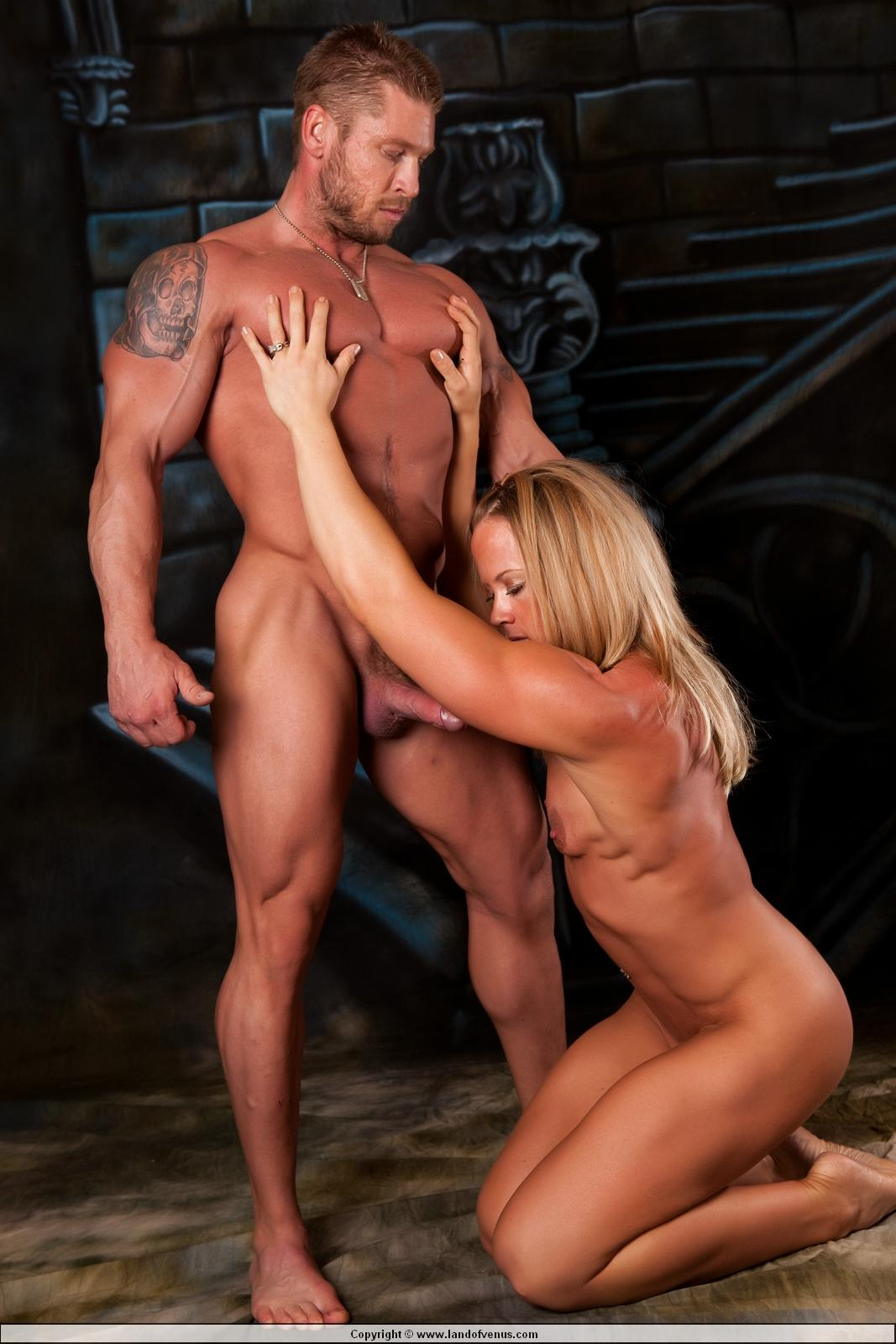 muscle girl sex