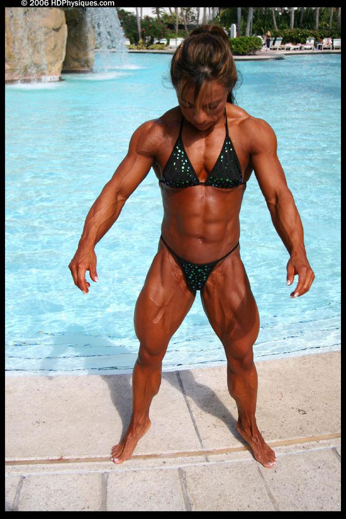 Girl nude on gear stick