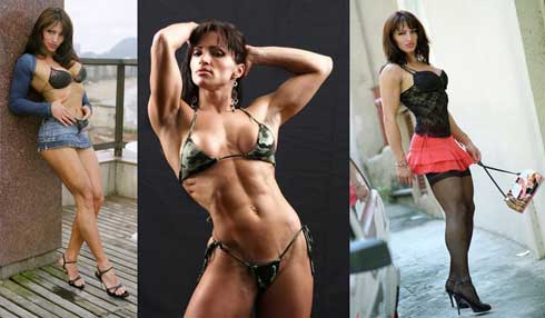 Click For Muscle Girl Pictures