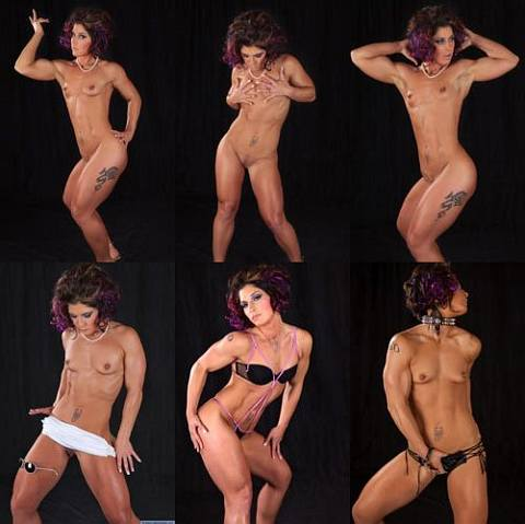 Nude Female Bodybuilder KO Picture