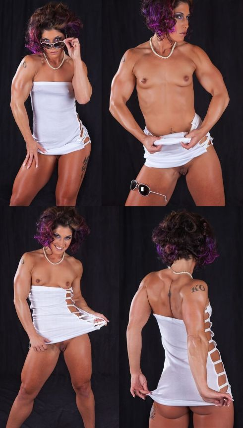Nude Female Bodybuilder KO
