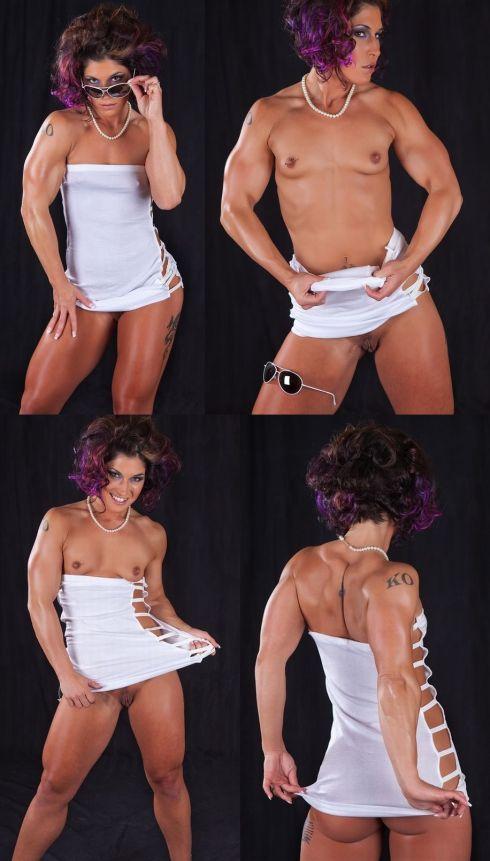 Girl nude muscle Female Body