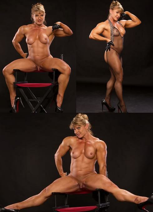 Nude Female Bodybuilder Emery Miller Picture
