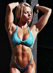 Muscle Girl Larissa Reis
