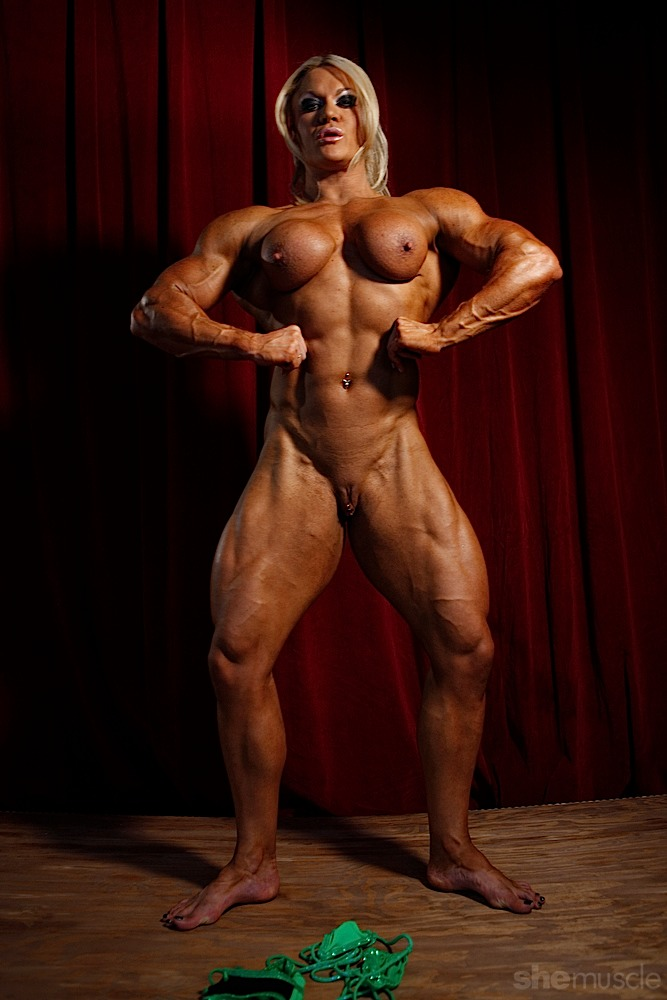 Lisa Cross Muscle Women