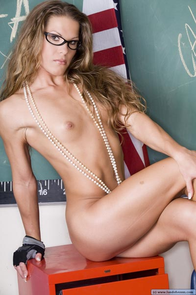 Venus nude of land models