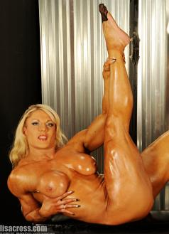 Female Bodybuilder Lisa Cross Nude Picture