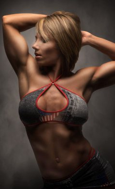 Female Fitness Girl Melissa Pearo Picture