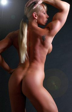 Female Bodybuilder Kriszti Picture