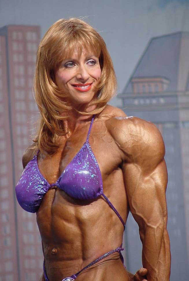 Female Bodybuilder Betty Pariso Pics & Movie