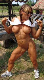 Muscle Girl Autumn Raby Picture