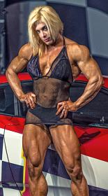 Muscle Girl Silvia Matta Picture