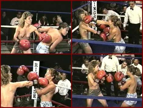 Catfight Boxing Picture