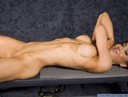 Female Bodybuilder Catherine Holland Nude Picture