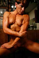 Nude Muscle Girl Picture