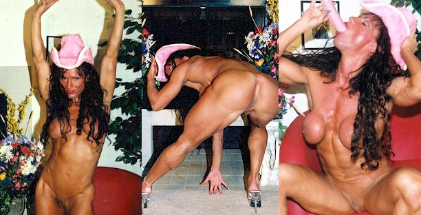 Mature muscle babe rhonda lee in her bedroom tmb