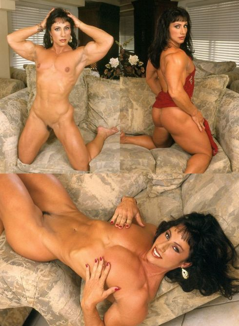 Nude Female Bodybuilder Annie Rivieccio Picture