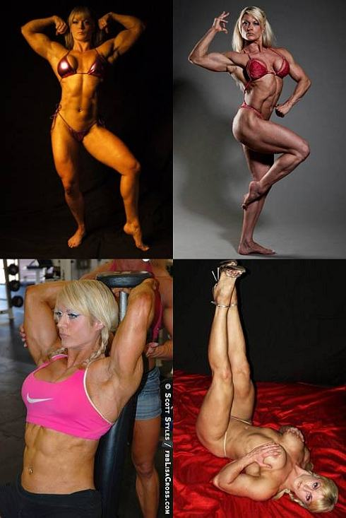 Female Bodybuilder Lisa CrossPicture