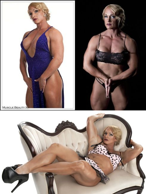 Sexy Female Bodybuilder Picture