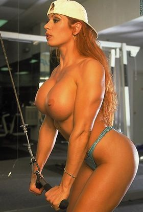 Muscle girl nude pictures at JustPicsPlease