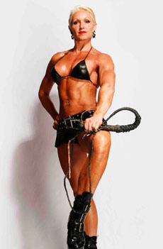 Female Muscle Dominatrix Picture