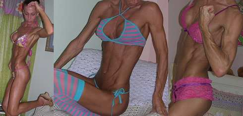 Skinny Female Bodybuilder Picture