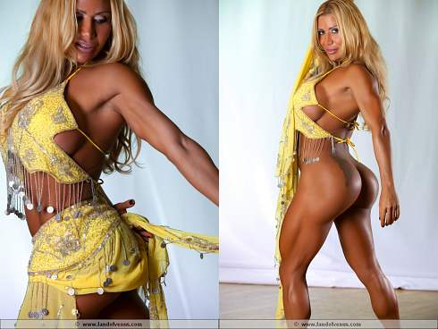 Female Bodybuilder Flavia Crisos Picture