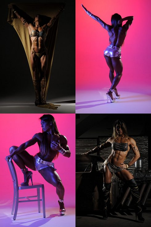 Female Bodybuilder Gal Ferreira Picture