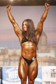 Female Bodybuilder Geraldine Morgan Picture
