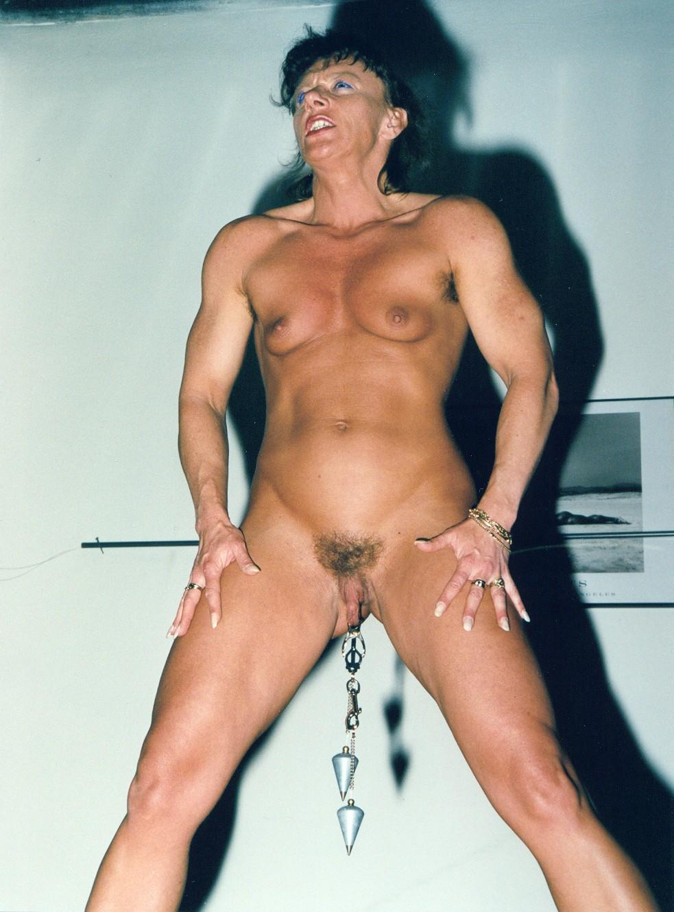 from Morgan nude female bodybuilding art