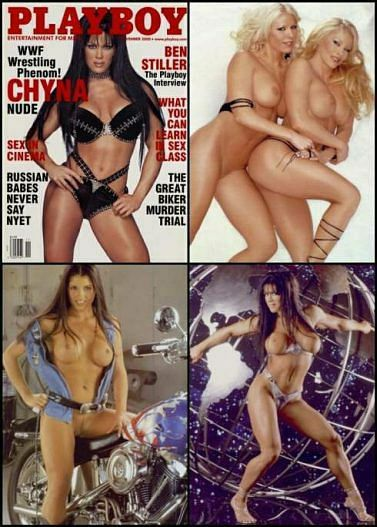 playboy muscle girls picture