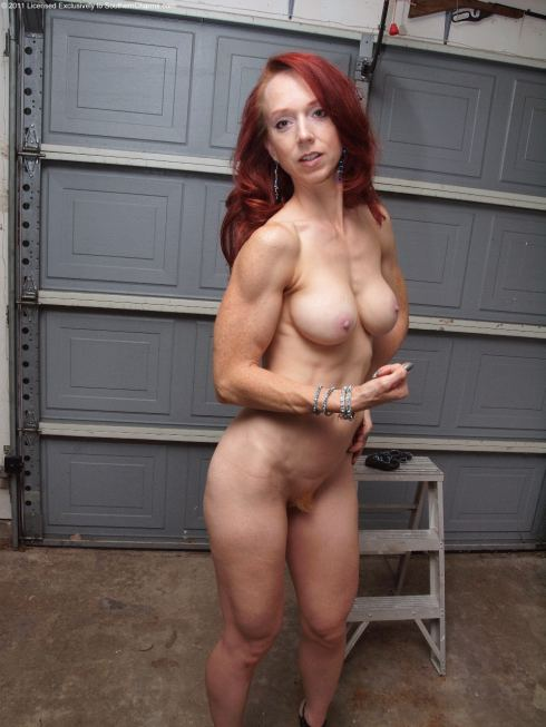 GOD Redhead muscle girls nude pics better