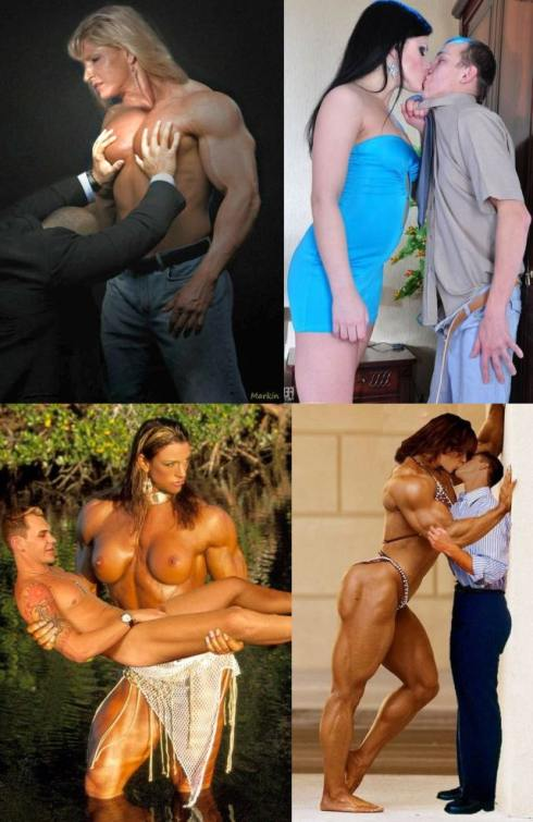 Muscular Dominant Women Picture