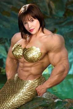 Female Bodybuilder Morph Picture