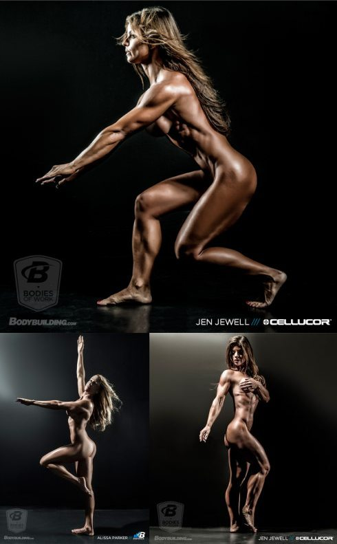 Nude Fitness Girl Picture