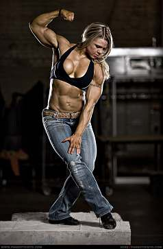 Female Fitness Girl Picture