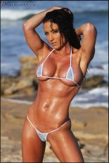 Female muscle model Sherri Gulley Picture