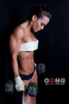 Fitness Girl Vanessa Tib Picture